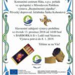 Bezpečnostní zápalka v Ledči nad Sázavou pohledem zpěvačky Jeřabinky a závěrečné poděkování autora